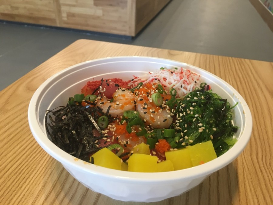 Poke Yana opened for its soft opening phase March 1 at 1414 Northpark Drive, Ste. G, Kingwood. (Kelly Schafler/Community Impact Newspaper)