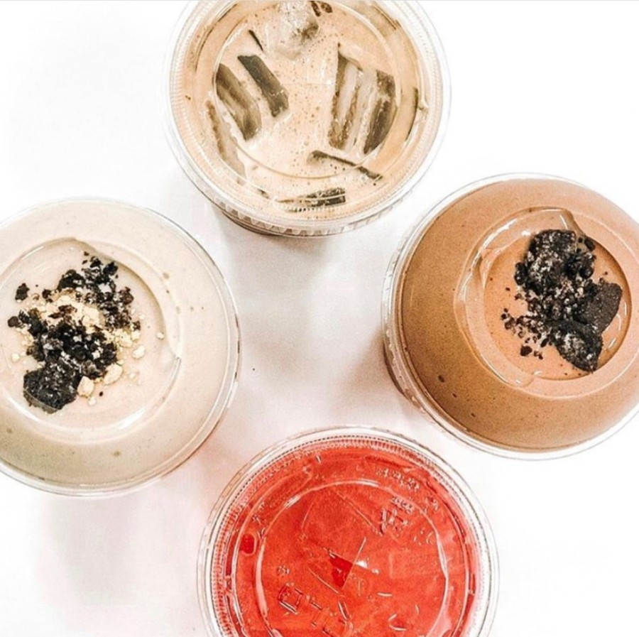 The new business will offer a variety of fat-burning energy teas and protein smoothies. (Courtesy Blended Paradise Energy & Nutrition)