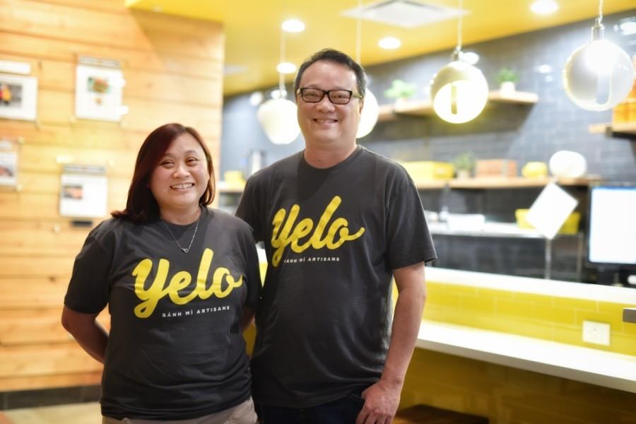 Chefs Alex Au-Yeung and Cuc Lam run Yelo Banh Mi Artisans in Katy Asian Town. (Courtesy Yelo Banh Mi Artisans)