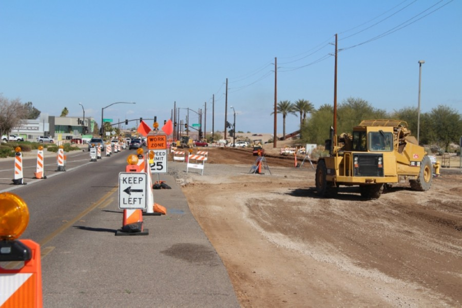 Gilbert road work