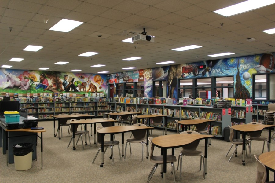 Staff at Katy Elementary School said the library was not designed to meet modern demands. (Morgan Theophil/Community Impact Newspaper)