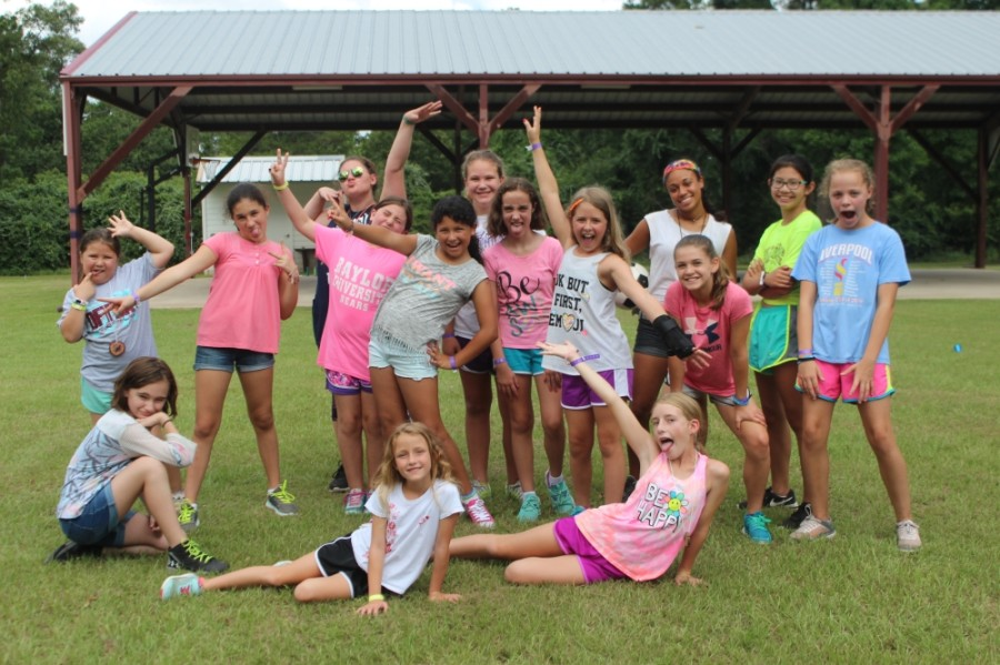 Camp Lantern Creek is an all-girls camp located on 100 acres in the woods of Montgomery. (Courtesy Camp Lantern Creek)
