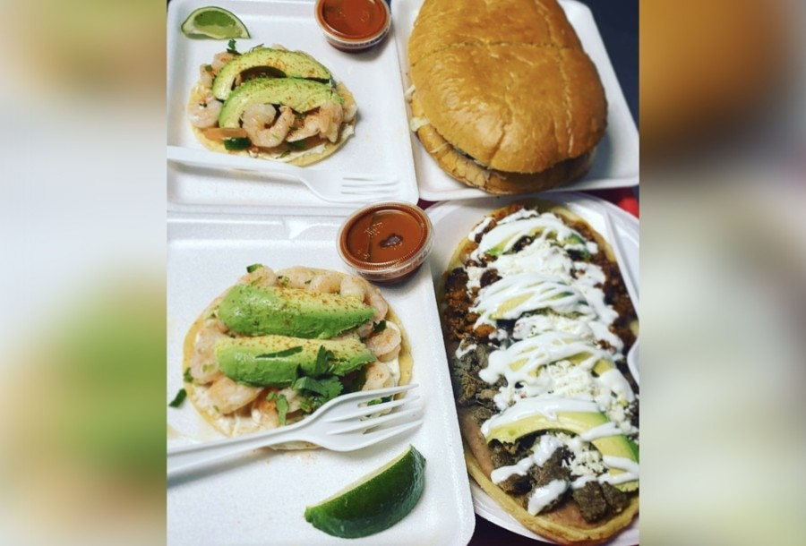 The Mexican restaurant offers a variety of tortas, prepared with beans, tomato, avocado, onion and mayo, as well as antojitos, burritos and tacos. (Courtesy La Hechizera Tortas)