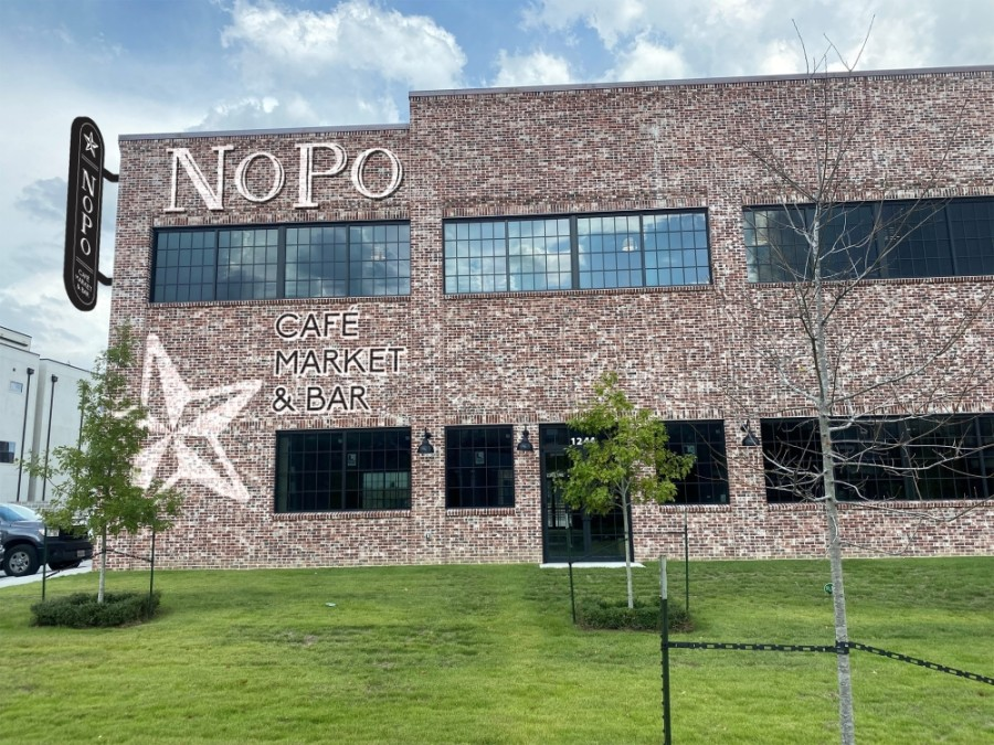 Named for the North Post Oak area, NoPo Cafe, Market & Bar is slated to open in May with all-day service, as well as a bar and market. (Courtesy Berg Hospitality)