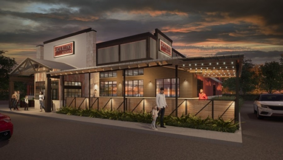 Jack Allen's Kitchen will be at 1345 E. Whitestone Blvd., Cedar Park. (Rendering courtesy Jack Allen's Kitchen)