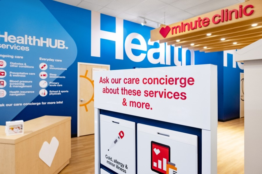 CVS Health is offering mental health counseling and care services at MinuteClinics inside five Houston-area CVS locations. (Courtesy CVS Health via AP Images)