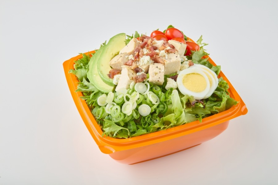 The drive-thru concept eatery will offer made-to-order salads, wraps, breakfast burritos, soups and drinks in Richardson. (Courtesy Salad and Go)