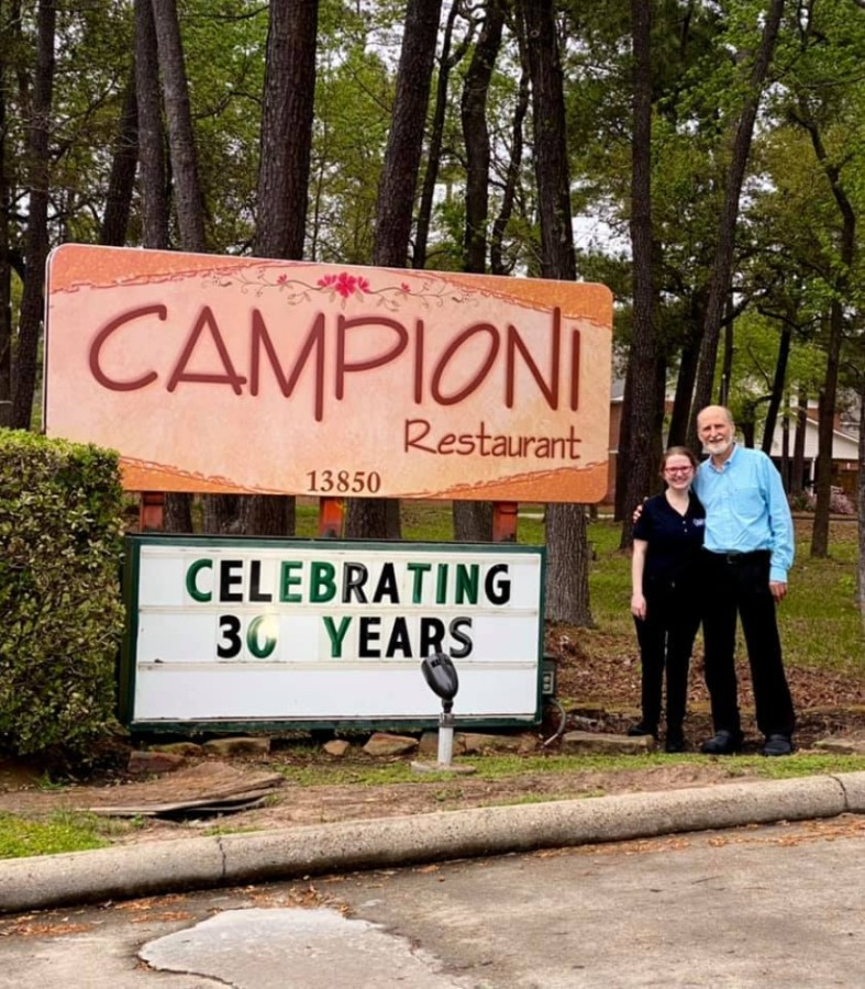 The locally owned Italian eatery opened in 1991 on FM 1960 and offers traditional Italian staples including seafood, chicken and veal entrees, gourmet pizzas and pastas as well as salads and desserts. (Courtesy Campioni Restaurant)