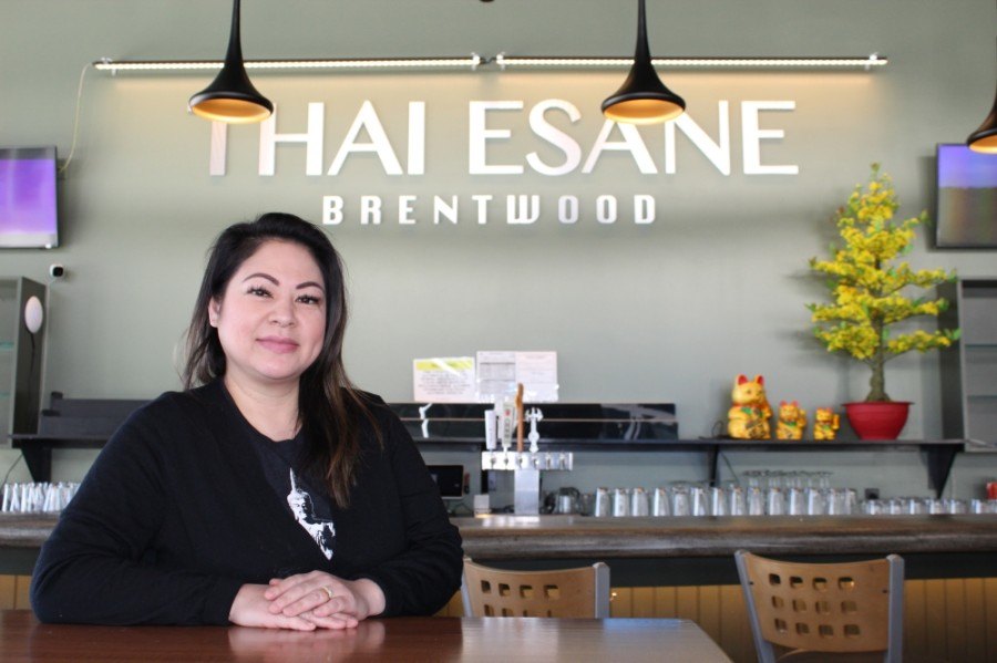 Chef and owner Nina Singto opened Thai Esane in Brentwood in February. (Wendy Sturges/Community Impact Newspaper)