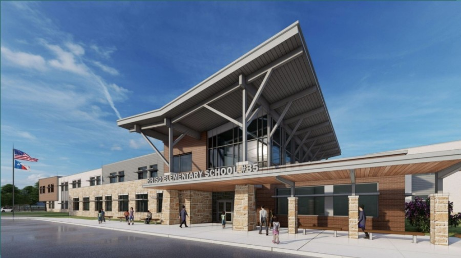 Elementary School No. 35 will open in the fall at 1500 Ty Cobb Place, Round Rock. (Rendering courtesy Round Rock ISD)