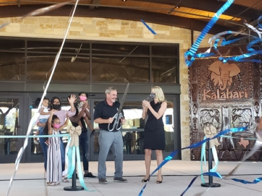 Kalahari Resorts and Conventions opened its Round Rock location Nov. 14. (Ali Linan/Community Impact Newspaper)