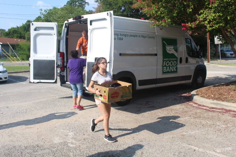 Last year, the Hays County Food Bank raised $56,000. This year, several local churches are matching donations. (Community Impact Newspaper)