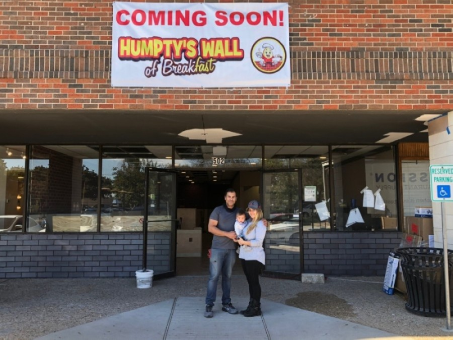 Fast-casual restaurant Humpty's Wall of Breakfast celebrated its grand opening in North Austin on March 1. (Courtesy Humpty's Wall)