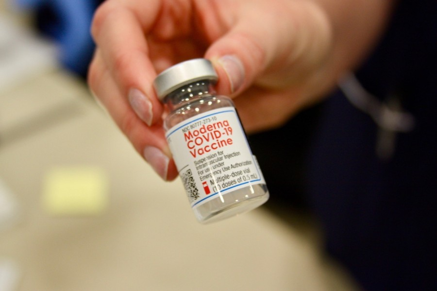 The Moderna coronavirus vaccine is one of three being administered in the U.S. (Lauren Canterberry/Community Impact Newspaper)