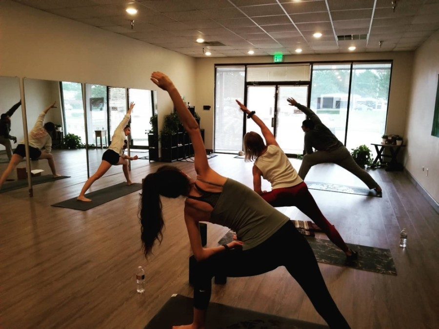 The studio offers a variety of yoga classes as well as meditation and life coaching. (Courtesy Alpine Yoga)