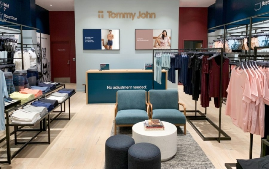 Tommy John's location in Southlake Town Square is the brand's first one in North Texas. (Courtesy Tommy John)