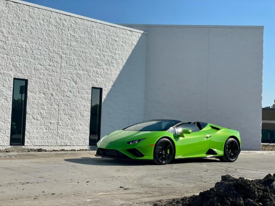 A sports car.