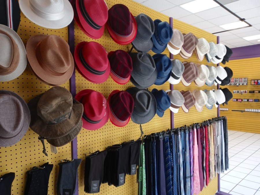 Sew N' Go provides clothes alterations for men and women as well as sells men's accessories, such as hats, wallets, cufflinks, neckties and belts. (Courtesy Sew N' Go)