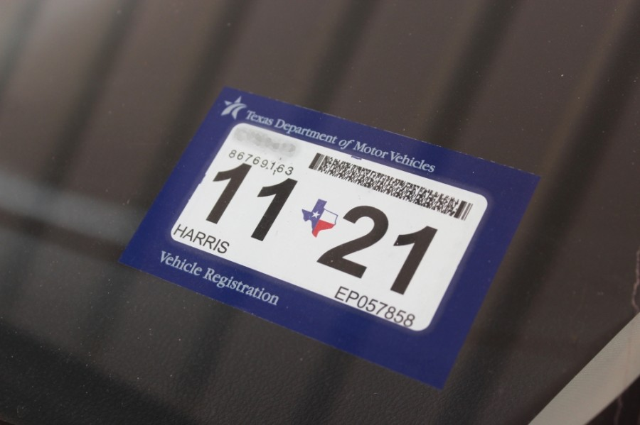 The temporary waiver covering initial vehicle registration, vehicle registration renewal, vehicle titling, renewal of permanent disabled parking placards and 30-day temporary permits will end April 14. (Hannah Zedaker/Community Impact Newspaper)