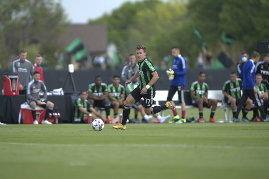 Austin FC forward Jon Gallagher