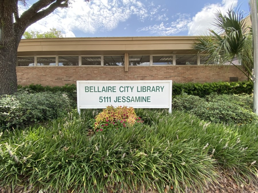 The Bellaire City Library will soon reopen its in-person services. (Hunter Marrow/Community Impact Newspaper)