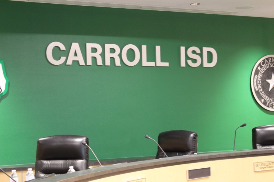The Carroll ISD Board of Trustee amended its mask mandate on April 5. (Sandra Sadek/Community Impact Newspaper)