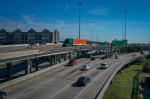 The North Houston Highway Improvement Project, which involves widening a portion of I-45 in Houston, remains a part of the Houston-Galveston Area Council's 2045 Regional Transportation Plan. (Nathan Colbert/Community Impact Newspaper)