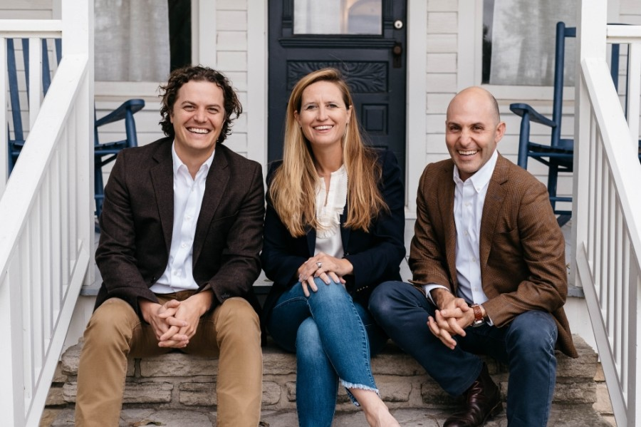 From left: Ethos Wellness is founded and operated by three native Texans: Robert Hilliker, Ceci Hudson Torn and Will Davis. (Courtesy Ethos Behavioral Health Group)
