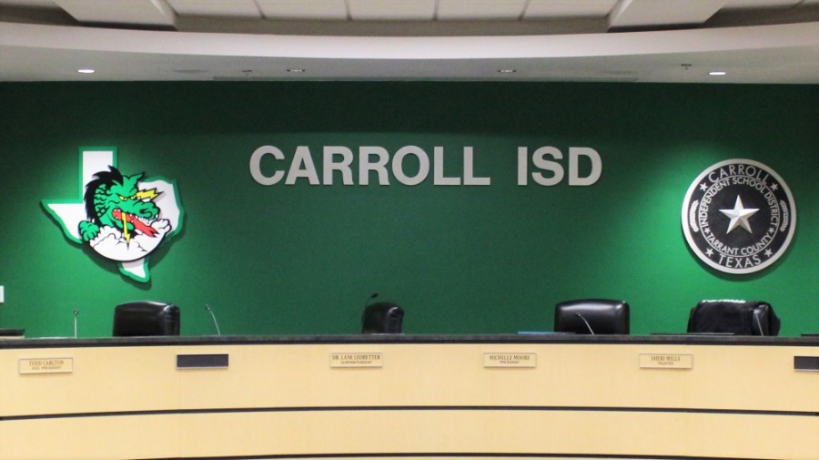 Carroll ISD board members Michelle Moore and Todd Carlton have been indicted on misdemeanor charges alleging violations to the state's open meetings law. (Sandra Sadek/Community Impact Newspaper)