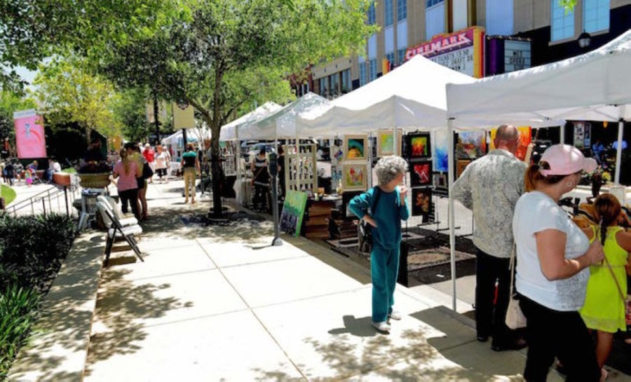May 08: See fine arts at Market Street. (Courtesy Market Street)