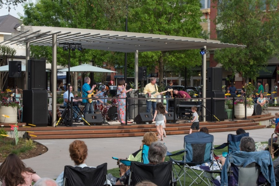 The Market Street Summer Concert Series starts up in April. (Courtesy Market Street)