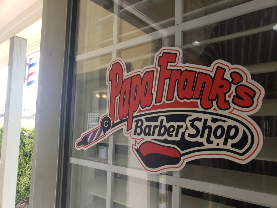 Papa Frank's Barber Shop celebrated its 10-year anniversary in April. (Ali Linan/Community Impact Newspaper)