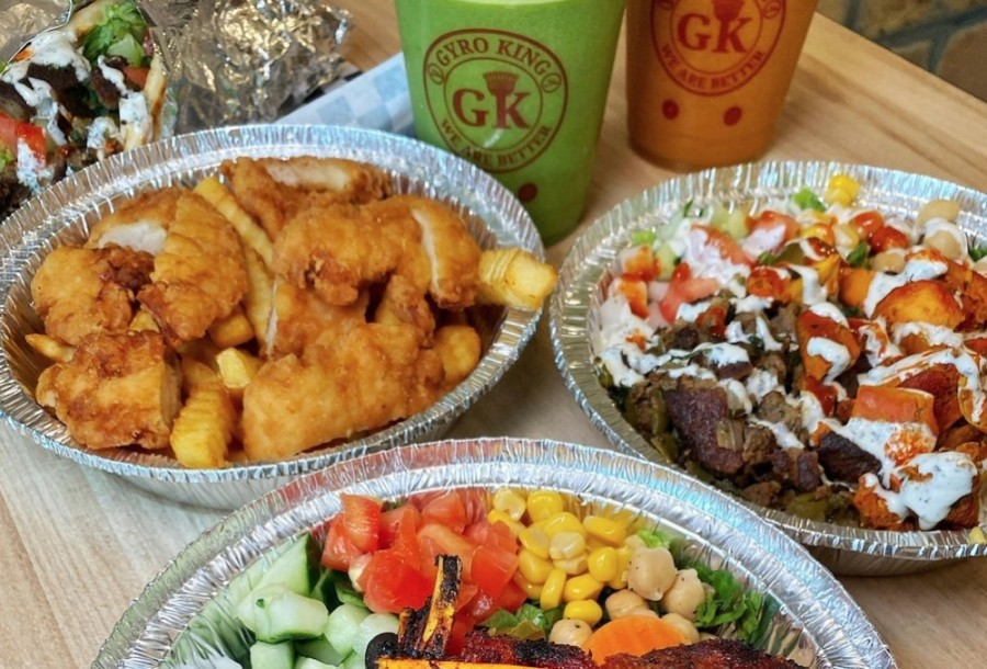 Gyro King serves six different types of gyro, including lamb, chicken, fish and falafel. (Courtesy Gyro King)