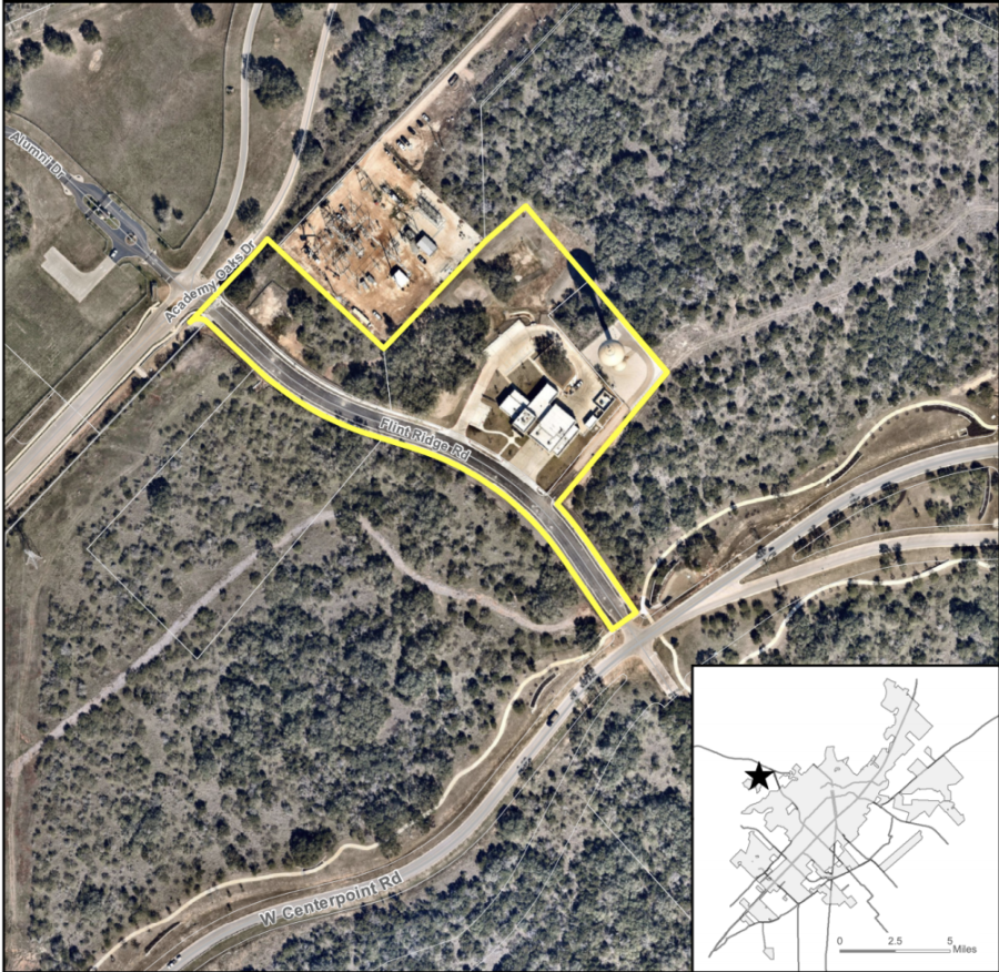 The annexation and zoning would include San Marcos Fire Station No. 2 and an empty lot adjacent to it near the La Cima development. (Courtesy city of San Marcos)