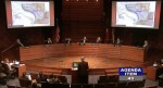 Frisco City Council listens to details about the proposed mixed-use project called The Link. (Screenshot courtesy city of Frisco)