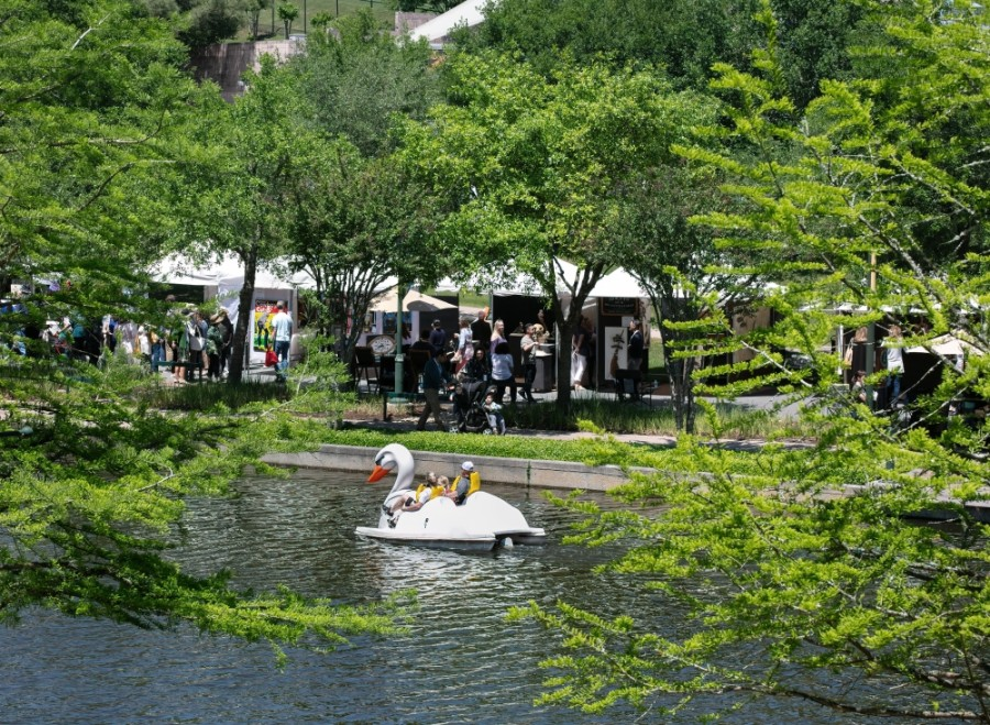 The Woodlands Waterway Arts Festival will be held April 10 and 11. (Courtesy The Woodlands Arts Council)