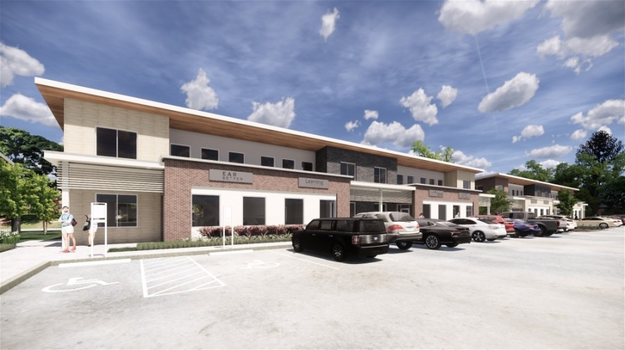 Construction is underway on the office condo project. (Rendering courtesy Read King Commercial Real Estate)