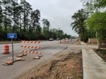 Work on FM 2978 is continuing through April west of The Woodlands. (Ben Thompson/Community Impact Newspaper)