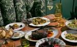Photo of a spread of fancy food