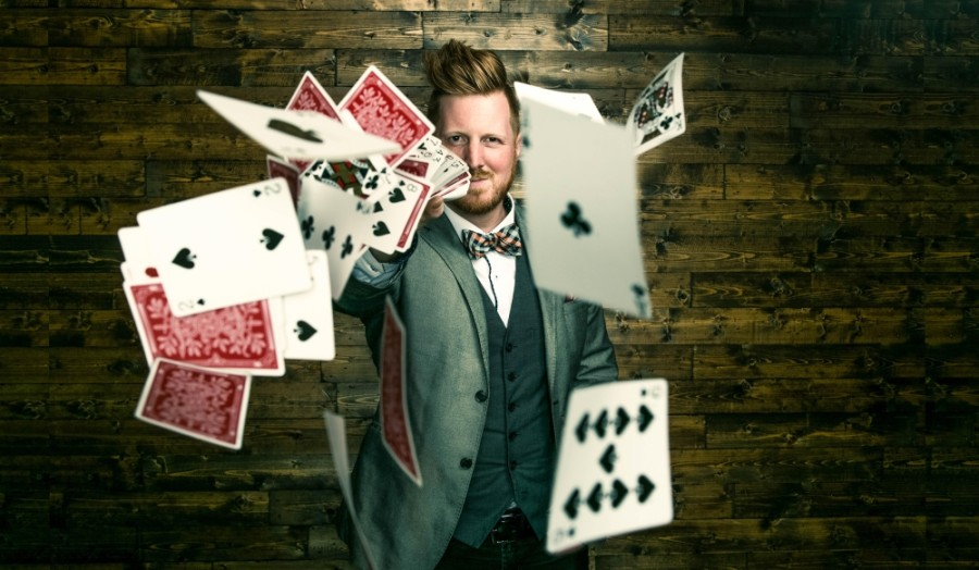 The Sanctuary Foster Care Services is holding a fundraiser with a magician performance. (Courtesy Joel Maisonet)