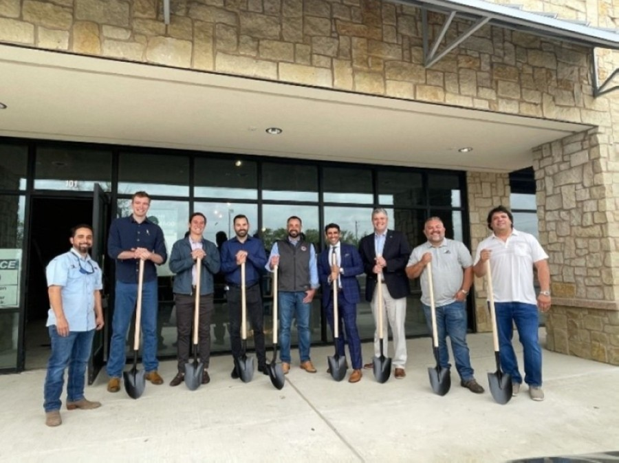 Romeo's Pizza held its Georgetown groundbreaking April 6. (Courtesy Romeo's Pizza)