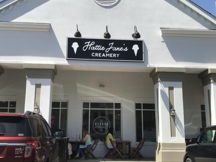 Hattie Jane's Creamery is now open in Franklin. (Wendy Sturges/Community Impact Newspaper)