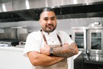 Photo of a male chef with crossed arms