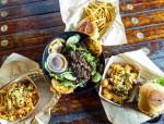LA Burger food.