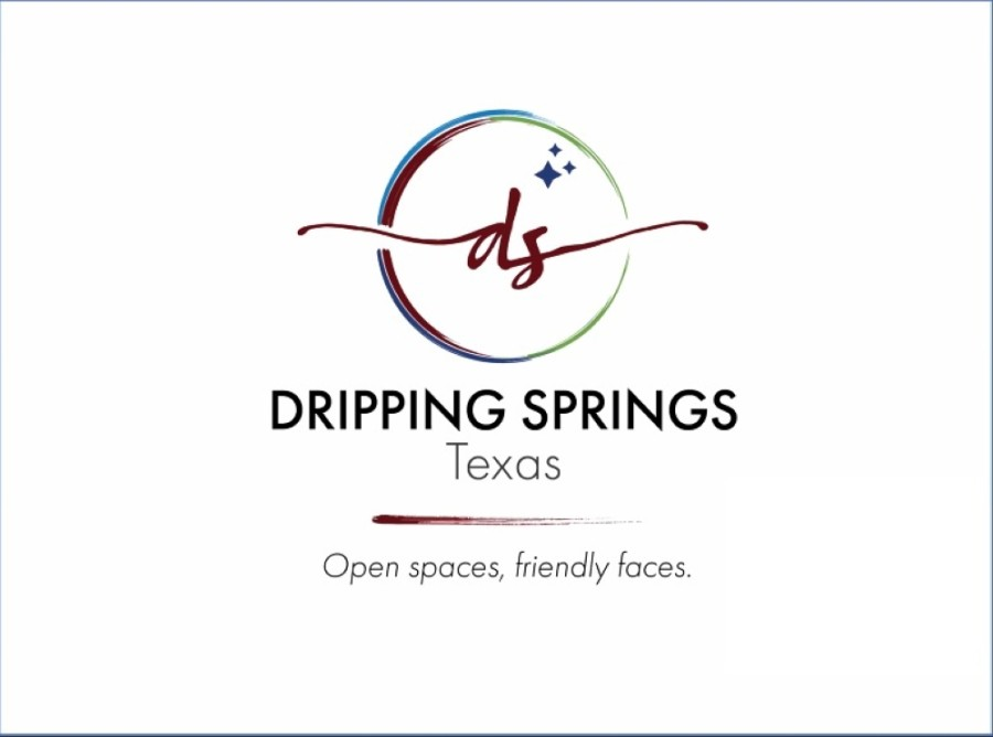 The most recent drafts of a Dripping Springs logo and new slogan were presented to Dripping Springs City Council April 13. (Courtesy city of Dripping Springs)