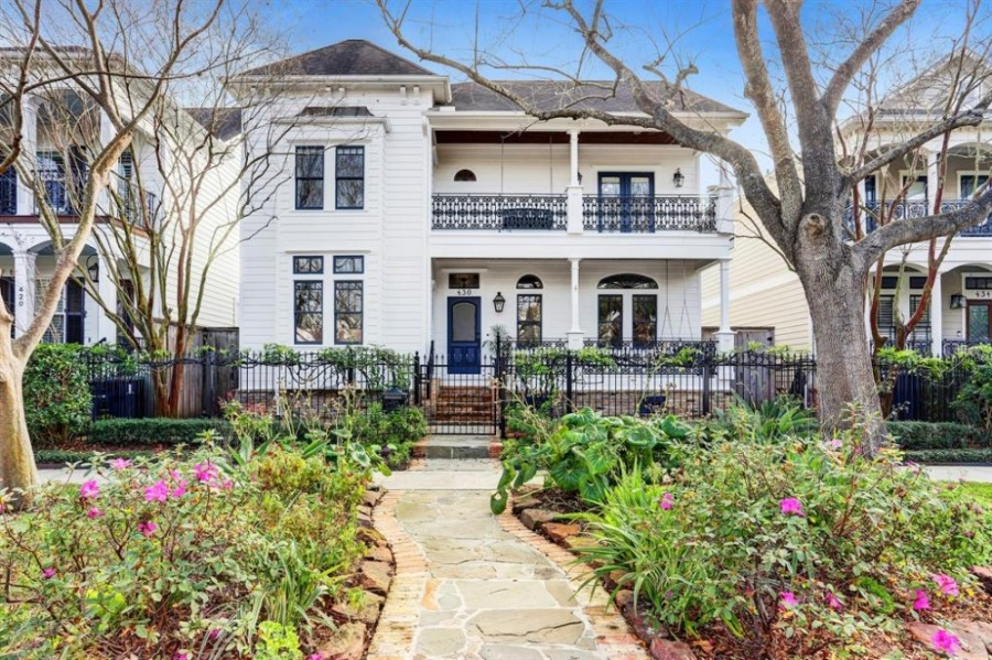 Homes priced above $750,000, such as this one in the Heights, saw a surge in sales in March, with almost twice as many properties sold. (Courtesy Houston Association of Realtors)
