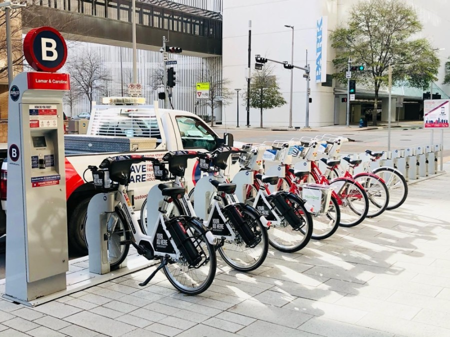 Houston City Council approved ordinances expanding and funding Houston's BCycle program on April 14. (Courtesy Houston BCycle)