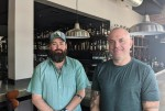 Chad Niland and Jason Sublett operate the restaurant, which has been open since 2016. (Lauren Canterberry/Community Impact Newspaper)
