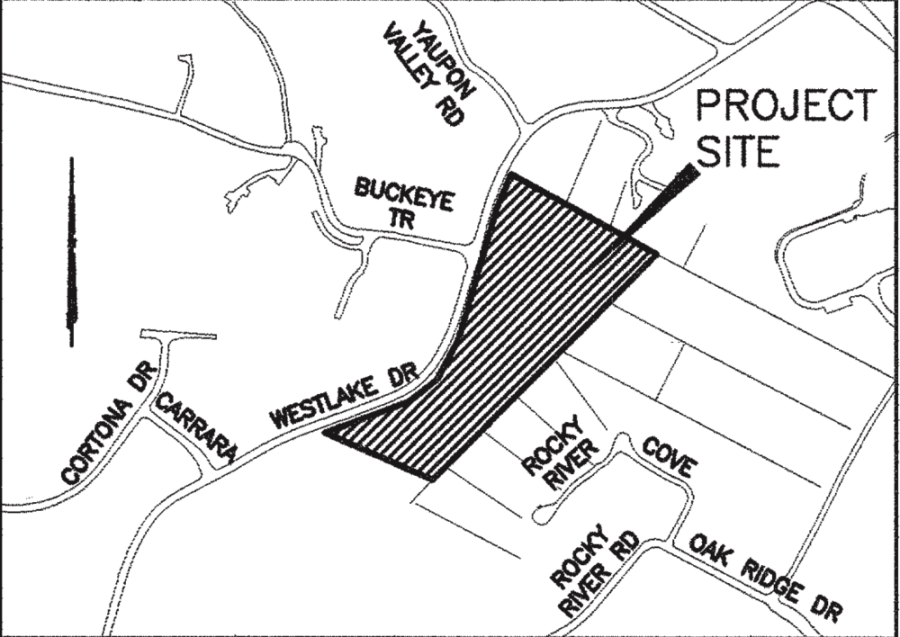 West Lake Hills City Council denied a request to subdivide a property on Westlake Drive into eight lots. (Courtesy West Lake Hills City Council)