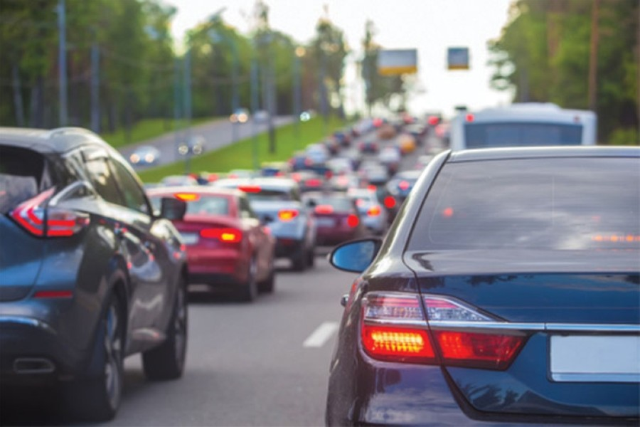 According to December data from the Texas A&M Transportation Institute, several Bay Area roads rank among the most congested in Texas, and many are worsening. (Courtesy Fotolia)